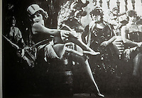 Technology: Weimar Culture--Dietrich in The Blue Angel. Stage and silent film star.
