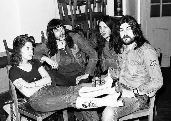 Suzi Quatro pictured in 1972. Credit: Ian Dickson/MediaPunch