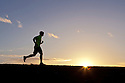 PE00260-00...WASHINGTON - Pierce Prohovost jogging in Edmonds. (MR# P9)