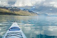 Kayaking Lake Wakatipu