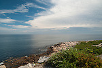 Halibut Point State Park, Rockport, MA has a view of 3 states