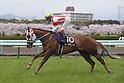 Reine Minoru (Kenichi Ikezoe),<br /> APRIL 9, 2017 - Horse Racing :<br /> Reine Minoru ridden by Kenichi Ikezoe before the Oka Sho (Japanese 1000 Guineas) at Hanshin Racecourse in Hyogo, Japan. (Photo by Eiichi Yamane/AFLO)