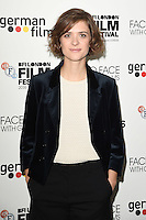 LONDON, UK. October 9, 2016: Liv Lisa Fries at the Face to Face with German Films photocall as part of the London Film Festival 2016, Mayfair Hotel, London.<br /> Picture: Steve Vas/Featureflash/SilverHub 0208 004 5359/ 07711 972644 Editors@silverhubmedia.com
