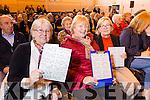 Enjoying the Mercy Mounthawk Secondary School Bingo Fundraiser on Sunday were Phil Gleason, Ballinorig, Bridget O'Shea, Blennerville, Margaret Fitzgerald, Manor Village