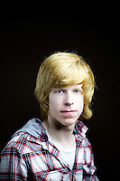Gregor Larmour,16, school pupil, from Kilmarnock.<br />  <br /> 'I call it gingerish blonde. I used to call it strawberry blonde but thats not very manly. If they think its ginger then its ginger. People called it ginger if they were bullies or trying to wind me up.'<br /> <br /> 'I can't imagine a disadvantage. In Italy they haven&rsquo;t seen many ginger people so on a school trip some guy was shouting Guy with orange hair!. My teacher translated for me. I was the only ginger guy in my year at school, it is not common, perhaps 10% in school.'<br /> <br /> 'Mum says I fire up quickly in an argument, she says my hair colour matches my temper. It's the picture of traditional angry ginger Scot.' <br /> <br /> 'My mum is blonde and father was in your face ginger like the 'see-you-jimmy' hats before he went bald. My wee brother is. We say my wee sister is adopted because she is brown.'