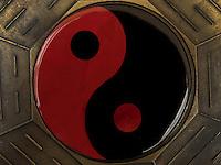 BOGOTÁ-COLOMBIA-23-01-2013. Fondo de ying yang. Background ying yang.  (Photo:VizzorImage)