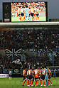Omiya Ardija team group,JULY 10, 2011 - Football :Omiya Ardija players form a circle before the 2011 J.League Division 1 match between between Omiya Ardija 2-3 Gamba Osaka at NACK5 Stadium Omiya in Saitama, Japan. (Photo by Hiroyuki Sato/AFLO)