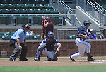 Ole Miss' Zach Kirksey vs. TCU in an NCAA Regional Game at College Station, Texas on Friday, June 1, 2012. Ole Miss won 6-2.