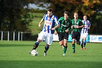 VOETBAL: LEMMER: 25-10-2015, vv Lemmer-vv Heerenveen, uitslag 0-3, Stefan Bollen (#11), Atte Otto Boek (#5), ©foto Martin de Jong