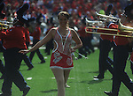 The Ole Miss band plays at Vaught-Hemingway Stadium in Oxford, Miss. on Saturday, September 24, 2011. Georgia won 27-13.