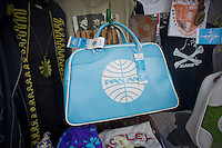 """Luggage and bags related to the ABC television program """"Pan Am"""" is seen discounted in a store in New York on Wednesday, January 11, 2012.  The future for the program set in 1961 following the exploits of stewardesses for the now defunct airline is still in limbo. (© Richard B. Levine)"""