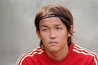 Fussball 1. Bundesliga:  Saison   2011/2012    Testspiel FC Bayern Muenchen  - Traumspiel 23.07.2011 Takashi Usami  (FC Bayern Muenchen)