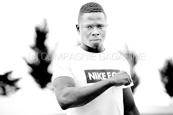 Ivorian football player Gohi Bi Zoro Cyriac (Belgium, 15/07/2015)