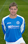 St Johnstone FC Season 2012-13 Photocall.Jamie Adams.Picture by Graeme Hart..Copyright Perthshire Picture Agency.Tel: 01738 623350  Mobile: 07990 594431