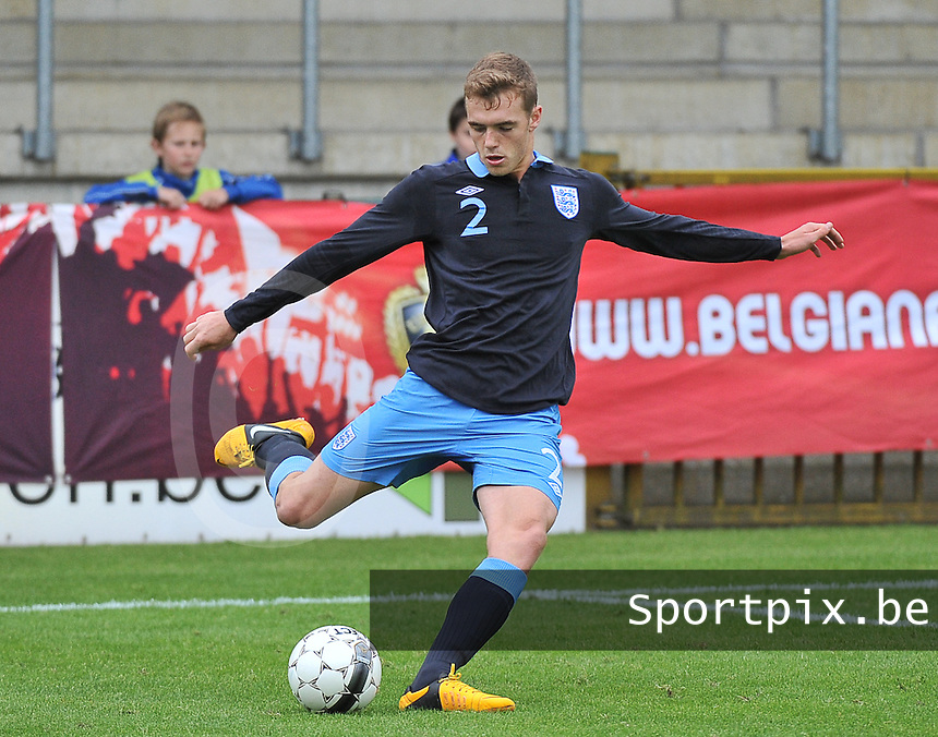 Belgium U19 - England U19 : Calum Chambers.foto DAVID CATRY / Nikonpro.be