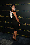 REAL HOUSEWIVES OF NEW JERSEY'S MELISSA GORGA WEARING A ALICE + OLIVIA DRESS AT TYSON BECKFORD HONORED  AT COURVOISIER'S EXCEPTIONAL JOURNEY LAUNCH EVENT HOSTED BY CHEF ROBLE HELD AT  THE SKYLARK