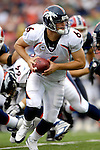 9 September 2007: Denver Broncos quarterback Jay Cutler (6) in action against the Buffalo Bills at Ralph Wilson Stadium in Buffalo, NY. The Broncos defeated the Bills 15-14 in the opening day matchup...Mandatory Photo Credit: Ed Wolfstein Photo