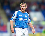 St Johnstone FC...Season 2012-13.Paddy Cregg.Picture by Graeme Hart..Copyright Perthshire Picture Agency.Tel: 01738 623350  Mobile: 07990 594431