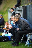 Auckland coach Ramon Tribulietx during the Oceania Football Championship final (second leg) football match between Team Wellington and Auckland City FC at David Farrington Park in Wellington, New Zealand on Sunday, 7 May 2017. Photo: Dave Lintott / lintottphoto.co.nz