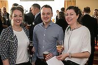 Pictured from left are Rebecca Williams and Andy Graham, both of the Vinden Partnership and Finola Brady of Finola Brady Architectural Services