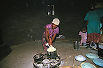 Woman Stirring Sadza