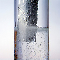 ALUMINUM DISSOLVES IN HCl<br /> (variations available)<br /> Yielding Hydrogen &amp; Aluminum Chloride. The reaction between an acid and a metal usually produces hydrogen gas and a dissolved salt containing the metal ion.