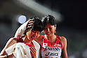 (L to R) Yuriko Kobayashi (JPN), Hitomi Niiya (JPN),JULY 9, 2011 - Athletics :The 19th Asian Athletics Championships Hyogo/Kobe, Women's 5000m Final at Kobe Sports Park Stadium, Hyogo ,Japan. (Photo by Jun Tsukida/AFLO SPORT) [0003]