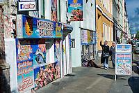 Berlino 14  Settembre 2013<br /> Una  via del quartiere Kreuzberg<br /> A street in the Kreuzberg district