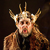 King Priam<br /> by Michael Tippett <br /> English Touring Opera<br /> at The Linbury Studio Theatre, Royal Opera House, Covent Garden, London, Great Britain <br /> dress rehearsal <br /> 11th February 2014 <br /> <br /> Conductor Michael Rosewell<br /> Director James Conway<br /> Designer Anna Fleischle<br /> Lighting Designer Guy Hoare<br /> <br /> <br /> Roderick Earle as King Priam <br /> <br /> Laure Meloy as Hecuba<br /> <br /> Grant Doyle as Hector<br /> <br /> Camilla Roberts as Andromache<br /> <br /> Nicholas Sharratt as Paris<br /> <br /> Niamh Kelly as Helen <br /> <br /> Adrian Dwyer as Hermes<br /> <br /> Charne Rochford as Archilles<br /> <br /> Piotr Lempa as Patroclus<br /> <br /> Clarissa Meek as Nurse<br /> <br /> Andrew Slater as Old Man <br /> <br /> Adam Tunnicliffe as Young Guard <br /> <br /> Caryl Hughes as Paris as a boy <br /> <br /> <br /> Photograph by Elliott Franks