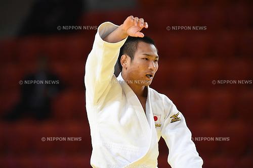Masashi Ebinuma (JPN), AUGUST 25, 2015 - Judo : World Judo Championships Astana 2015 Men's -66kg 2nd round at Alau Ice Palace in Astana, Kazakhstan. (Photo by AFLO SPORT)