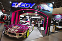 January 13, 2012, Chiba, Japan - A customized Mazda RX-7 is displayed at the Exedy company booth during the 2012 Tokyo Auto Salon at Makuhari Messe. The car show runs from January 13-15. (Photo by Christopher Jue/AFLO)