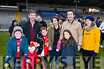 O'Donoghue Cup fans, pictured at the O'Donoghue Cup Final Crokes v Rathmore, held at Fitzgerald Stadium, Killarney on Sunday last were l-r: Padraig Murphy, Eanna Murphy, Donal Murphy, Rian Murphy, Carina O'Mahony, Patrick O'Sullivan, Aine O'Sullivan and Karen Machnik.