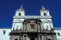 The 16th-century Monastery of San Francisco is ic. Quito was made a UNESCO World Heritage Site in 1978