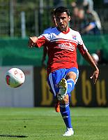 FUSSBALL  DFB POKAL        SAISON 2012/2013 SpVgg Unterchaching - 1. FC Koeln  18.08.2012 Yasin Yilmaz (Unterhaching)