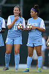 19 August 2016: North Carolina's Darcy McFarlane (11) and Zoe Redei (15). The University of North Carolina Tar Heels hosted the University of Central Florida Knights in a 2016 NCAA Division I Women's Soccer match. UNC won the game 2-0