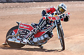 Ben Morley of Hackney Hawks in riding action - Hackney Hawks Speedway Press &amp; Practice Day at Arena Essex Raceway, Purfleet, Essex - 23/03/11 - MANDATORY CREDIT: Gavin Ellis/TGSPHOTO - Self billing applies where appropriate - Tel: 0845 094 6026