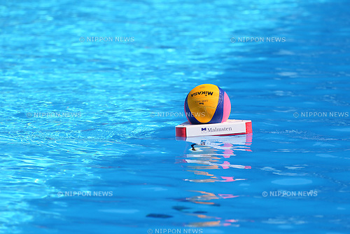 General view, <br /> JULY 28, 2015 - Water Polo :<br /> 16th FINA World Championships Kazan 2015<br /> Men's Preliminary Round<br /> match between Brazil 11-8 Japan<br /> at Water Polo Arena in Kazan, Russia.<br /> (Photo by Yohei Osada/AFLO SPORT)
