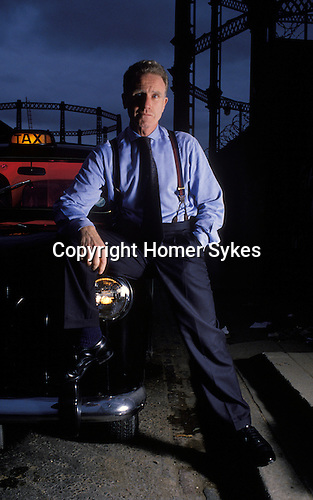 David Hines author and London taxi driver Kings Cross area