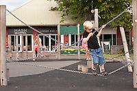 Hafan Y Mor holiday park at Pwllheli in Wales