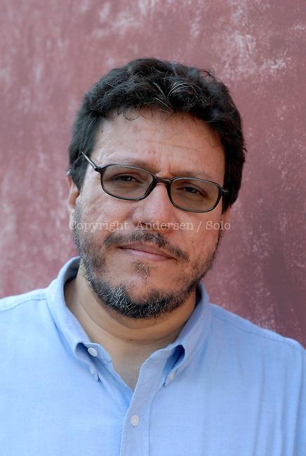 Colombian writer Santiago Gamboa. Aix en Provence, October 16, 2011