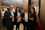 Ty Hafan Celebrity Chef.Wyn Innes, Sally Jaques, Dave Thomas & Zena Westerman.Maldron Hotel.26.09.12.©Steve Pope
