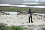 Sandi Matsumoto On Survey Of Orond Beach Dune & Marsh