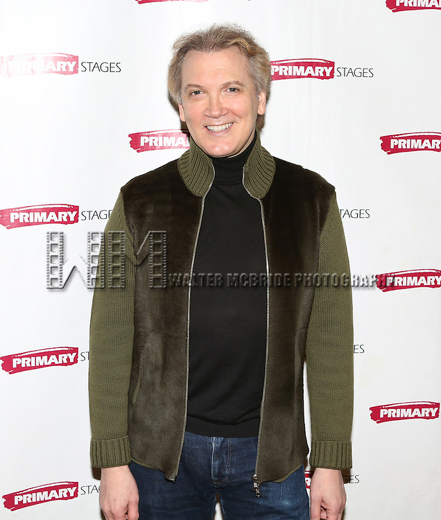Charles Busch attending the Meet & Greet for the Primary Stages production of 'The Tribute Artist' at their rehearsal studios  on January 7, 2014 in New York City.