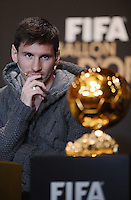 Fussball FIFA Ballon D'or 2012