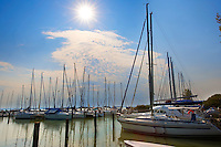 Szigiglet marina and yaucht club , Balaton, Hungary