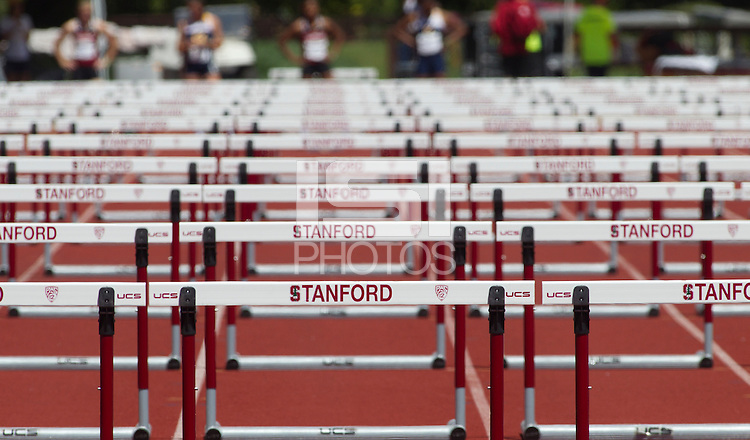 Stanford, CA., April 20, 2013,--The 119 Big Meet at Cobb Track and Angell Field at Stanford University.