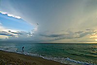 Florida, Palm Beach, Atlantic Ocean