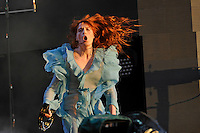 LONDON, ENGLAND - JULY 2: Florence Welch of 'Florence and The Machine' performing at British Summertime, Hyde Park on July 2, 2016 in London, England.<br /> CAP/MAR<br /> &copy;MAR/Capital Pictures /MediaPunch ***NORTH AND SOUTH AMERICAS ONLY***