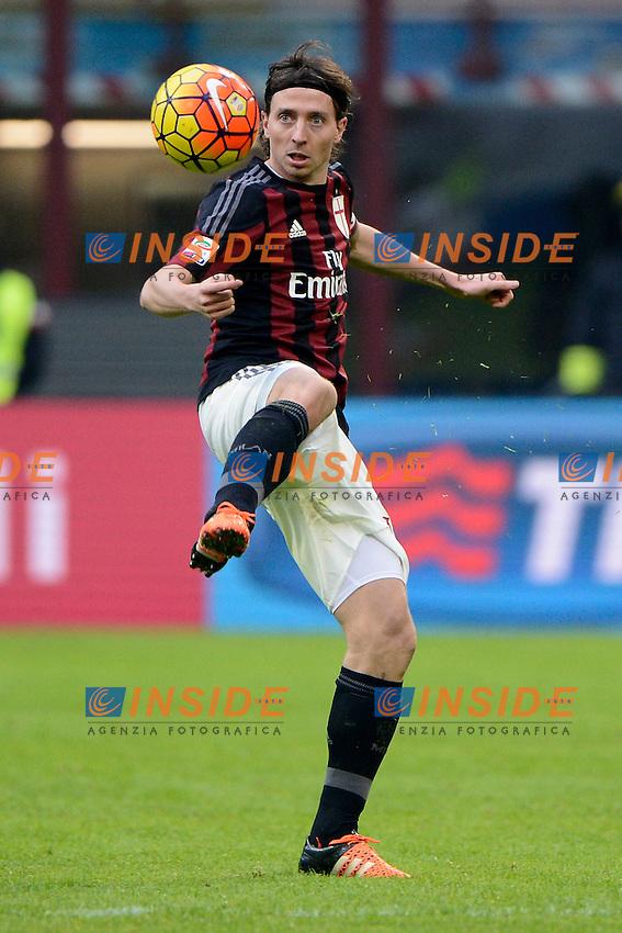 Riccardo Montolivo Milan<br /> Milano 6-01-2016 Stadio Giuseppe Meazza - Football Calcio Serie A Milan - Bologna. Foto Giuseppe Celeste / Insidefoto