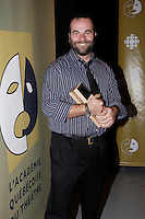 August 2007 File Photo - Frederic Blanchette attend Gala des Masques